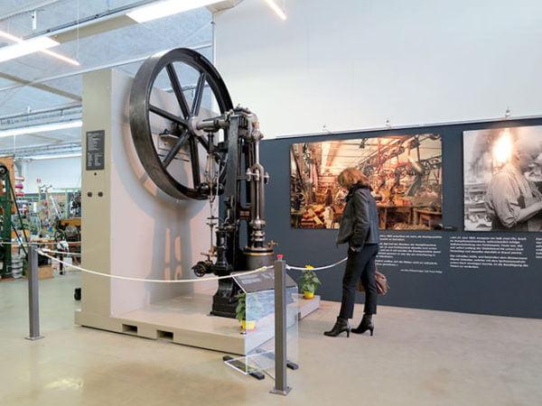 Ausstellung Dampfmaschine Ballyana 06